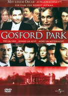Gosford Park - German Movie Cover (xs thumbnail)