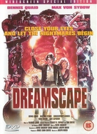 Dreamscape - British DVD cover (xs thumbnail)