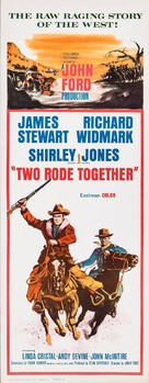 Two Rode Together - Movie Poster (xs thumbnail)