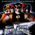 Mighty Morphin Power Rangers: The Movie - Spanish DVD cover (xs thumbnail)