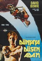 The Man Who Fell to Earth - Turkish Movie Poster (xs thumbnail)