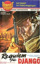 Rèquiem para el gringo - German VHS movie cover (xs thumbnail)