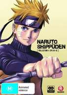 """Naruto: Shippûden"" - Australian DVD cover (xs thumbnail)"