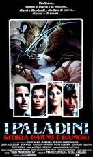 I Paladini - storia d'armi e d'amori - Italian Movie Poster (xs thumbnail)