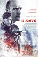 6 Days - Indonesian Movie Poster (xs thumbnail)