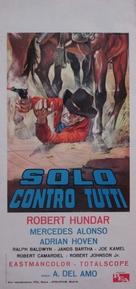 Solo contro tutti - Italian Movie Poster (xs thumbnail)