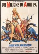 One Million Years B.C. - Italian Movie Poster (xs thumbnail)