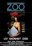 A Zed & Two Noughts - Swedish Movie Poster (xs thumbnail)