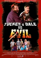 Tucker and Dale vs Evil - German Movie Poster (xs thumbnail)
