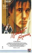Midnight Express - German VHS movie cover (xs thumbnail)