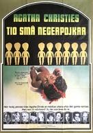 Unbekannter rechnet ab, Ein - Swedish Movie Poster (xs thumbnail)