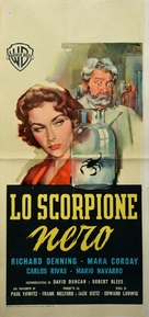 The Black Scorpion - Italian Movie Poster (xs thumbnail)