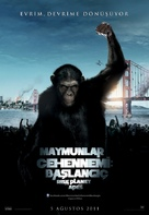 Rise of the Planet of the Apes - Turkish Movie Poster (xs thumbnail)