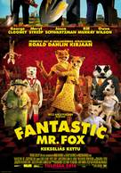 Fantastic Mr. Fox - Finnish Movie Poster (xs thumbnail)