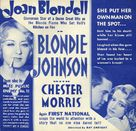 Blondie Johnson - poster (xs thumbnail)