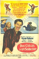The World of Henry Orient - Argentinian Movie Poster (xs thumbnail)