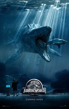 Jurassic World - Danish Movie Poster (xs thumbnail)