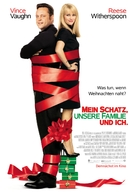 Four Christmases - German Movie Poster (xs thumbnail)