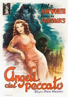 Angels Over Broadway - Italian Movie Poster (xs thumbnail)
