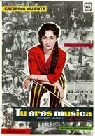 Du bist Musik - Spanish Movie Poster (xs thumbnail)