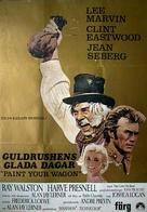Paint Your Wagon - Swedish Movie Poster (xs thumbnail)