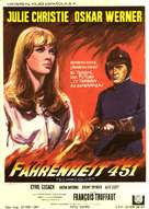 Fahrenheit 451 - Spanish Movie Poster (xs thumbnail)