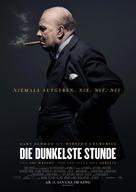 Darkest Hour - German Movie Poster (xs thumbnail)