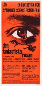 Fantastic Voyage - Swedish Movie Poster (xs thumbnail)