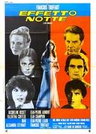 La nuit américaine - Italian Movie Poster (xs thumbnail)