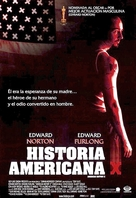 American History X - Mexican Movie Poster (xs thumbnail)