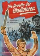 Dieci gladiatori, I - German Movie Poster (xs thumbnail)