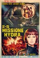2+5: Missione Hydra - Italian Movie Poster (xs thumbnail)
