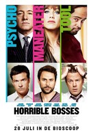Horrible Bosses - Dutch Movie Poster (xs thumbnail)