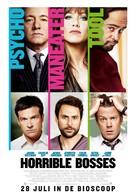 Horrible Bosses - Dutch Movie Poster (xs thumbnail)