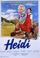 Heidi - German Movie Poster (xs thumbnail)