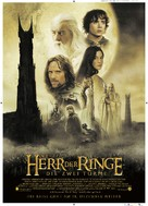 The Lord of the Rings: The Two Towers - German Movie Poster (xs thumbnail)