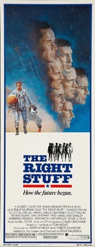 The Right Stuff - Movie Poster (xs thumbnail)