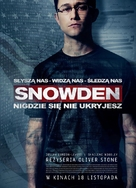 Snowden - Polish Movie Poster (xs thumbnail)
