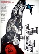 In Frankfurt sind die Nächte heiß - German Movie Poster (xs thumbnail)