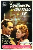 Le comte de Monte Cristo, 1ère époque: Edmond Dantès - Spanish Movie Poster (xs thumbnail)