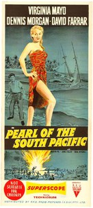 Pearl of the South Pacific - Australian Movie Poster (xs thumbnail)