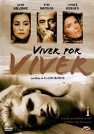 Vivre pour vivre - Brazilian Movie Cover (xs thumbnail)
