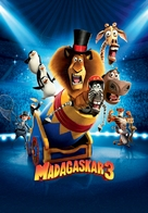 Madagascar 3: Europe's Most Wanted - Slovenian Movie Poster (xs thumbnail)
