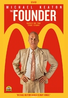The Founder - DVD cover (xs thumbnail)