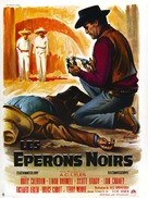 Black Spurs - French Movie Poster (xs thumbnail)