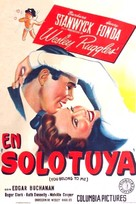 You Belong to Me - Argentinian Movie Poster (xs thumbnail)