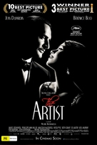 The Artist - Australian Movie Poster (xs thumbnail)