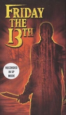 Friday the 13th - VHS movie cover (xs thumbnail)