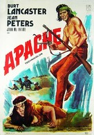 Apache - Spanish Movie Poster (xs thumbnail)