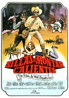 Blazing Saddles - Spanish Movie Poster (xs thumbnail)
